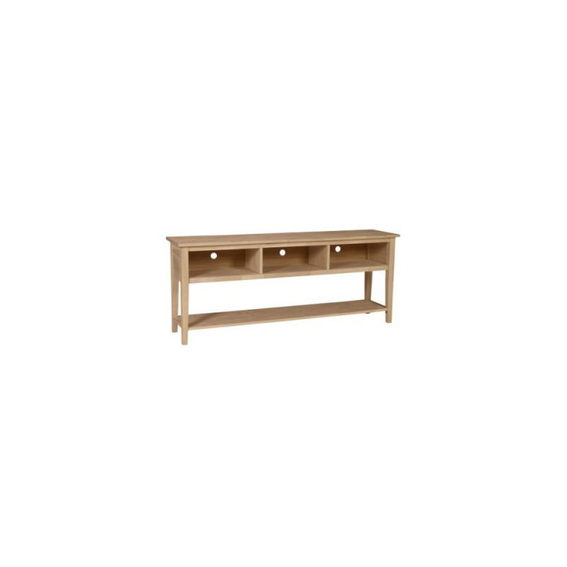 [72 Inch] Shaker Open TV Console