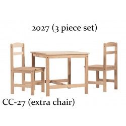 Kid's 3pc Table  & Chair Set