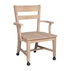 C-126 Castored Desk Chairs