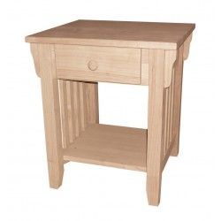 [19 Inch] Mission End Table