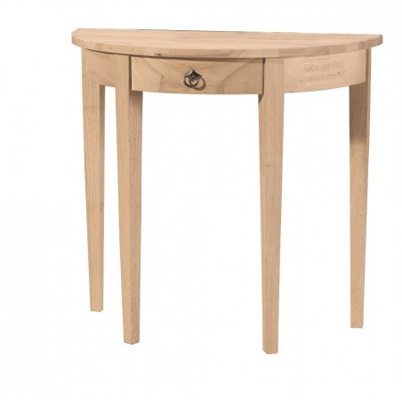 [32 Inch] Crescent Entry Half Moon Table