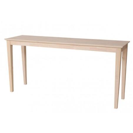 [60 Inch] Shaker Sofa Table
