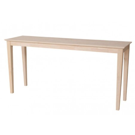 [60 Inch] Shaker Sofa Table with Drawers