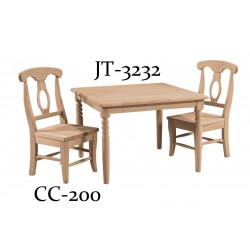 [32 Inch] Kid's Square Table