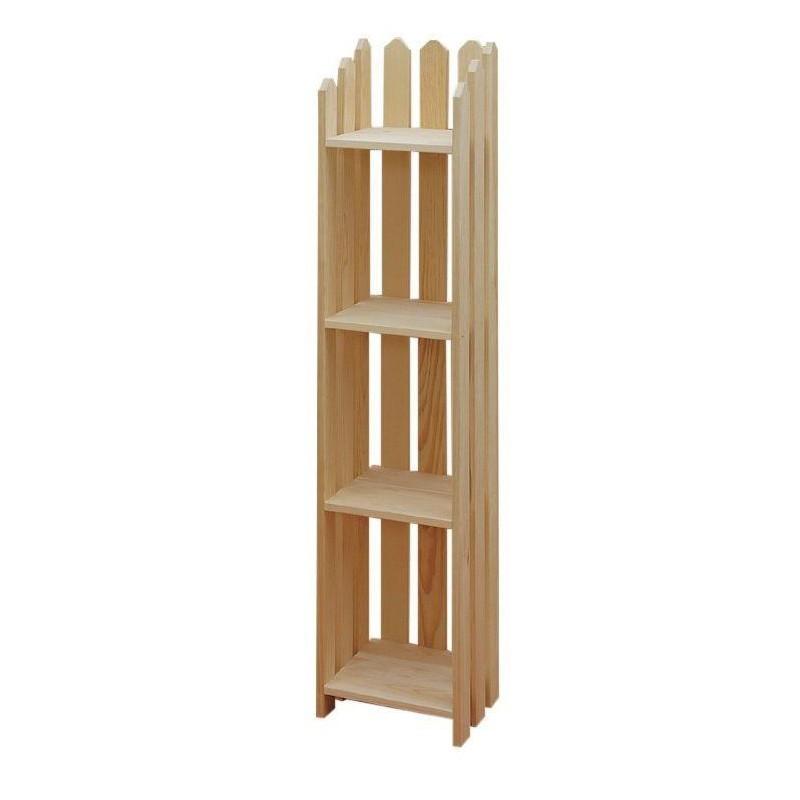 """[13 Inch] Picket Bookshelves 56""""H"""