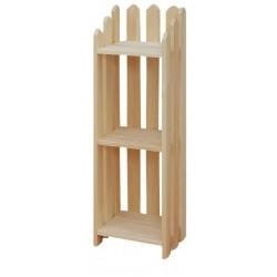 """[13 Inch] Picket Bookshelves 39""""H"""