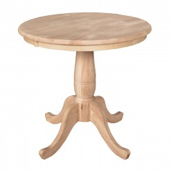 [30 Inch] Classic Dining Table
