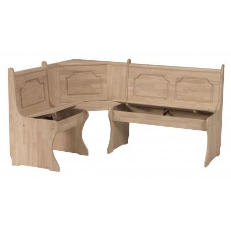 Corner Storage Benches