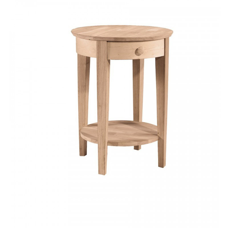 [21 Inch] Phillips Round Bedside Table