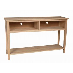 """[60 Inch] Shaker Open TV Console - 36""""H"""