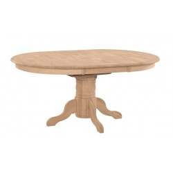 [42x42-60 Inch] Butterfly Dining Table - Unfinished