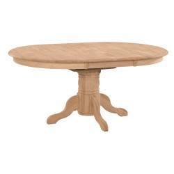 [42x54-72 Inch] Butterfly Dining Table - with T-48XB Pedestal