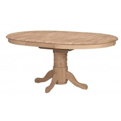 [48x48-66 Inch] Butterfly Dining Table - with T-48XB Pedestal