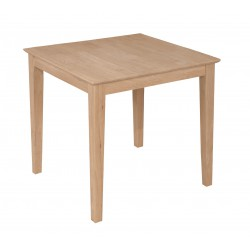 [30 Inch] Modern Farm Dining Table with T-30S Legs