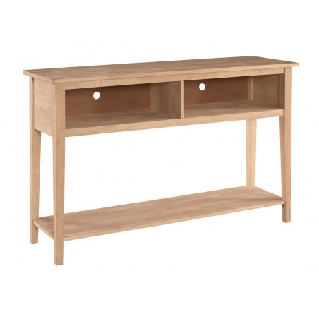 "[60 Inch] Shaker Open TV Console - 36""H"