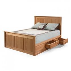 Alder  6 Drawer Chest Storage Bed