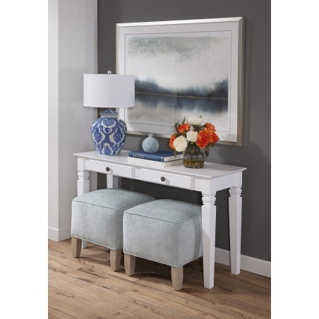 [52 Inch] Java Sofa Table with Drawers