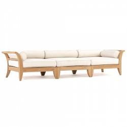 Aman Dias 3 Pc Teak Sofa Set