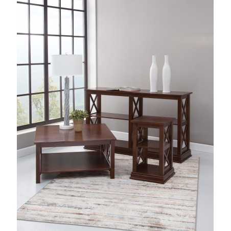 [36 Inch] Hampton Square Coffee Table