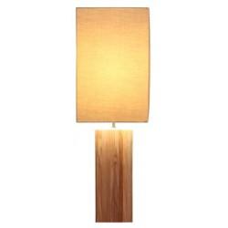 Line Teak Lamp