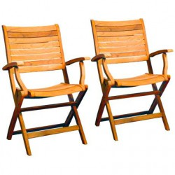 Palu Teak Folding Chair