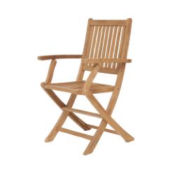 Yogya Teak Folding Arm Chair