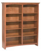 Solid Wood Bookshelves: Library Shelves | Bookcases | Book Storage