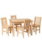 Real Wood Kids Furniture: Play Tables   Chairs   Rockers   Toy Chests